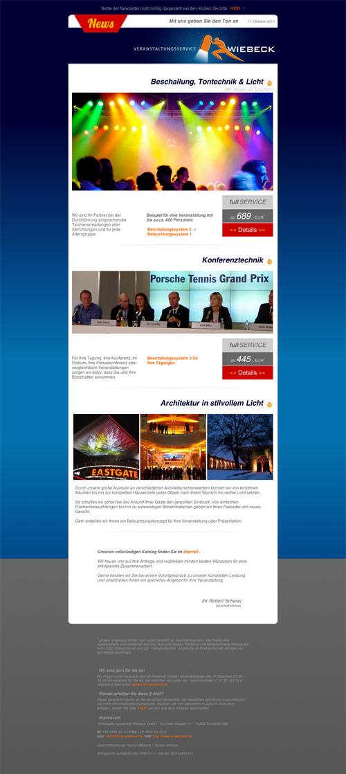 Newsletter Oktober 2011