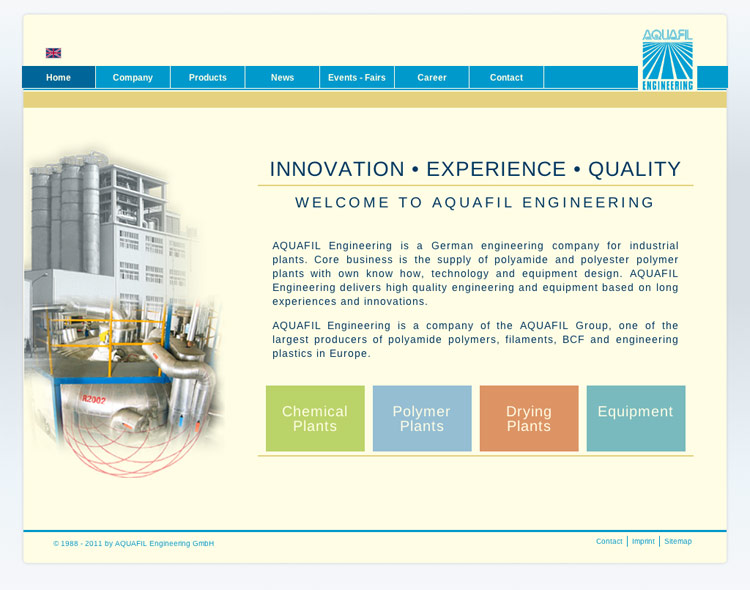 aquafileng.com - Webshot