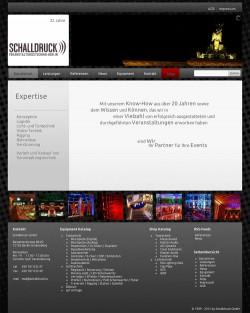 schalldruck.tv - Webshot - Startseite