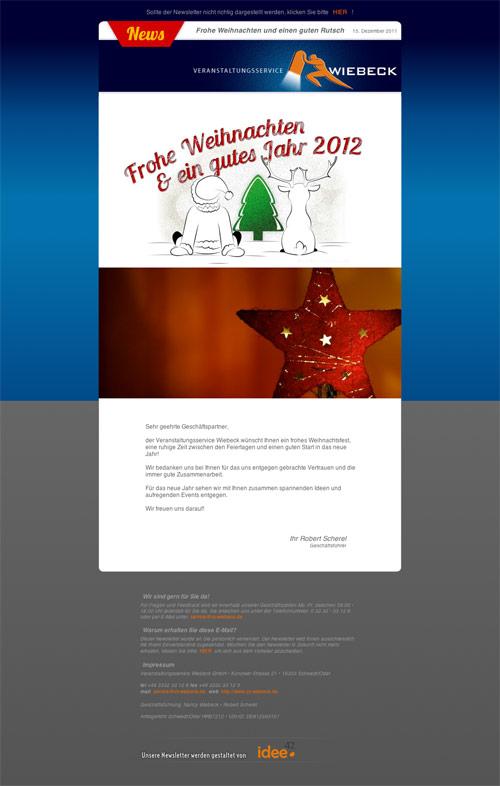 Newsletter Dezember 2011