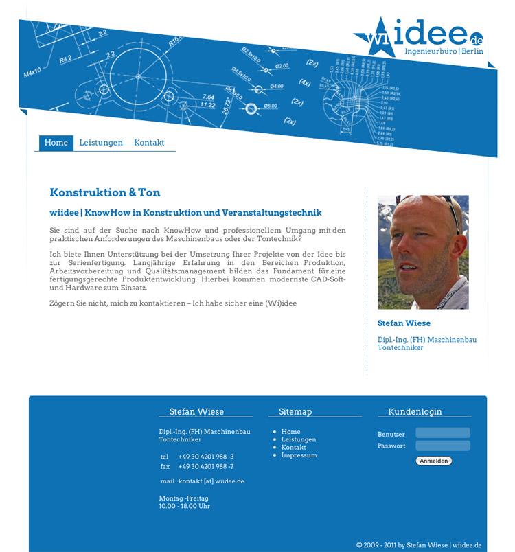 wiidee.de - Webshot