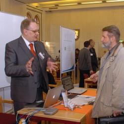 Herr Messer erklärt IT // Foto © Stefan Csévi 2011
